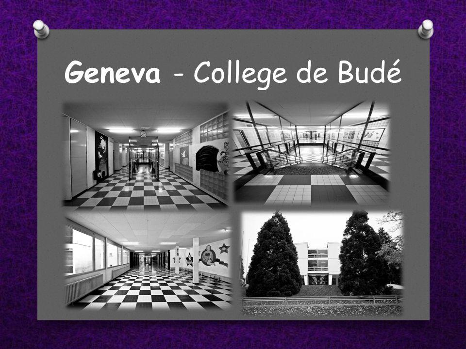 Geneva - College de Budé