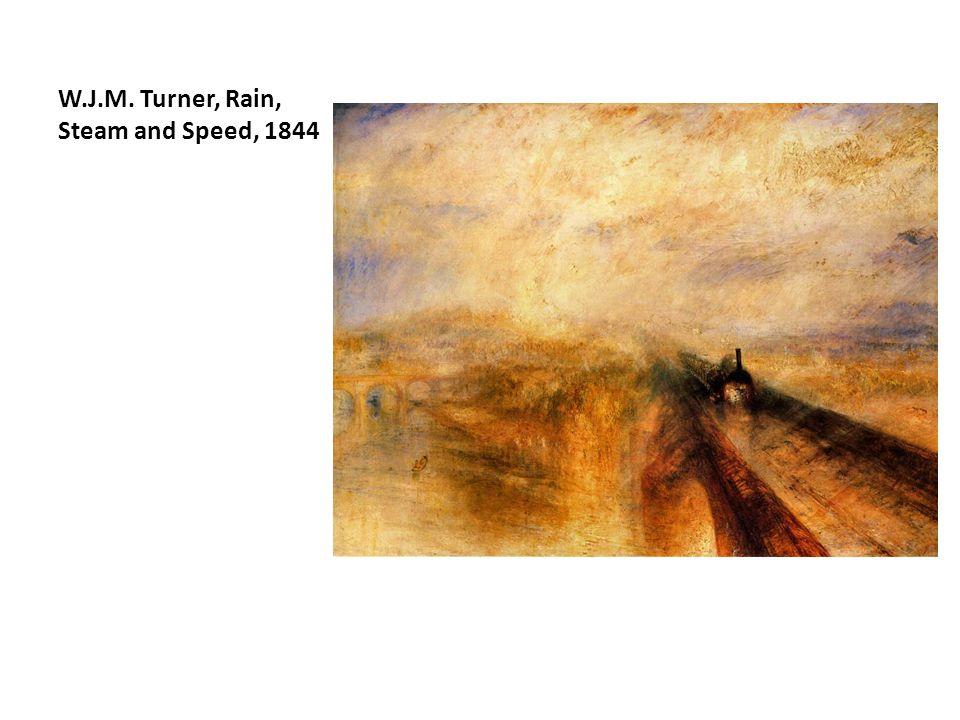 W.J.M. Turner, Rain, Steam and Speed, 1844