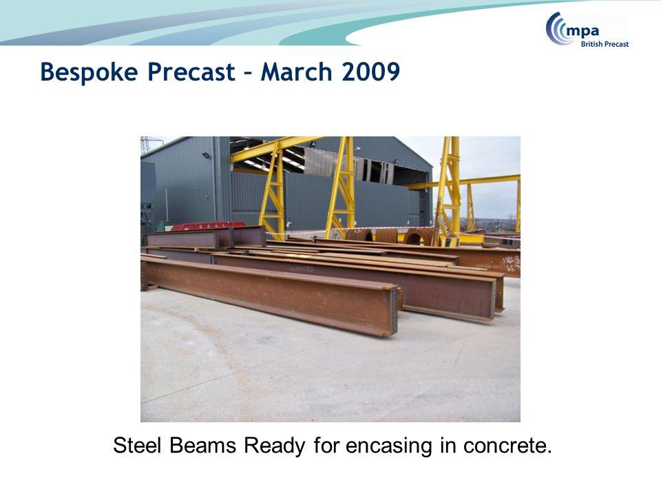 Steel reinforcement welded to beams