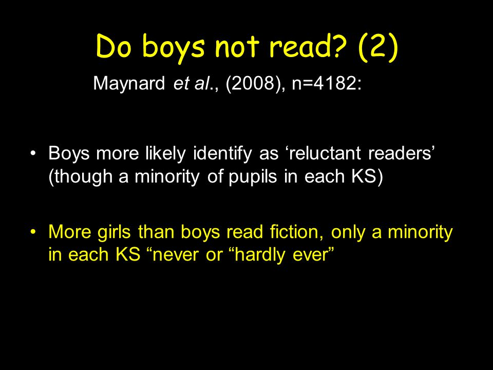 Boys' reading and Harry Potter Has the series made a difference to boys'/children's literacy, in terms of attitudes, practices and/or attainment.