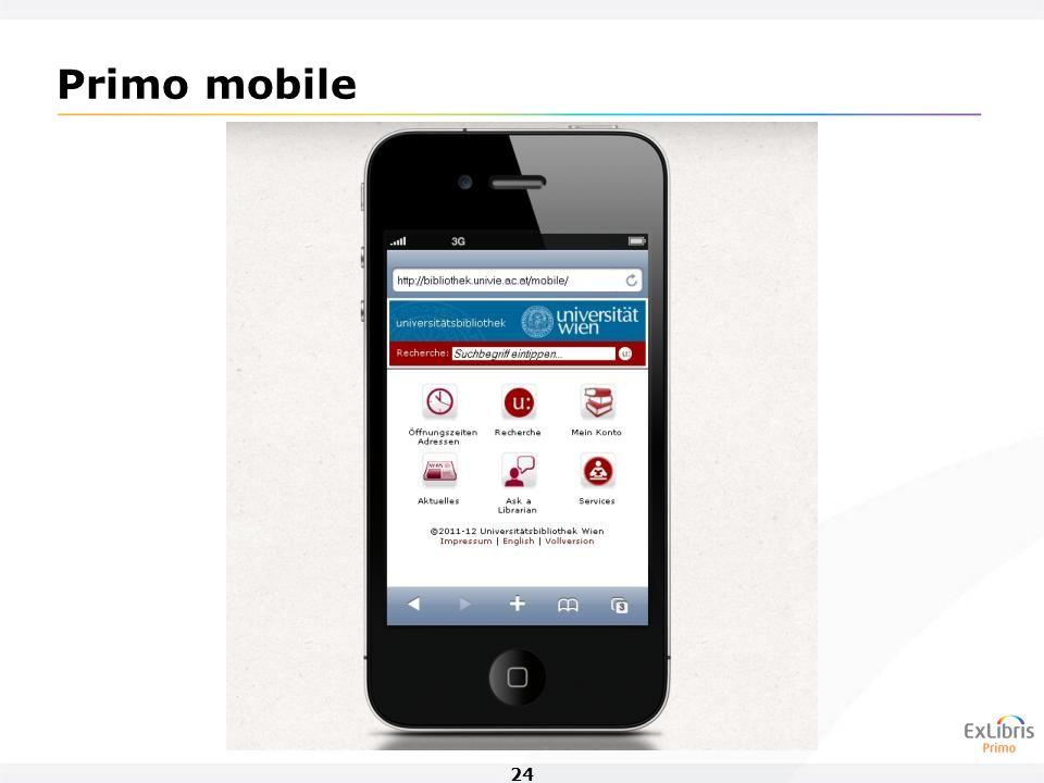 24 Primo mobile