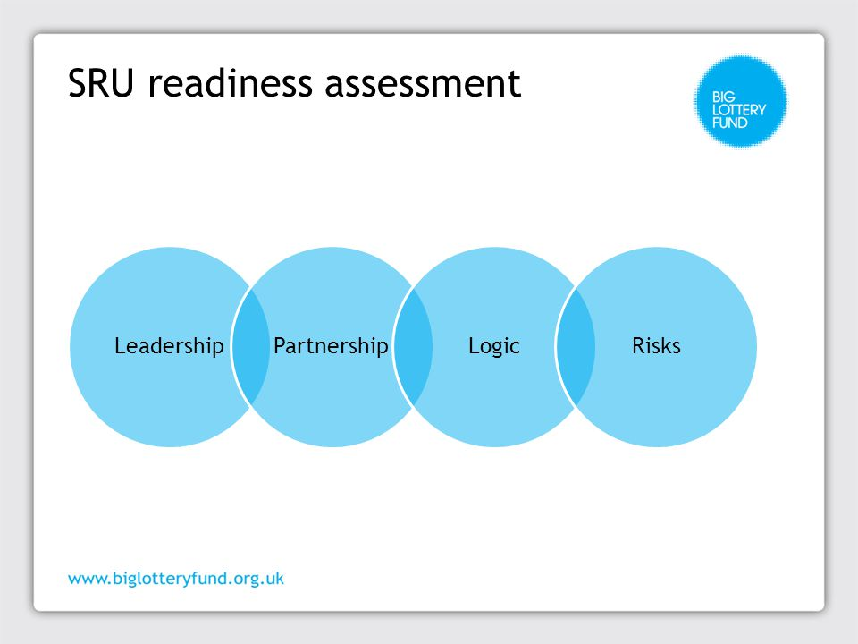 SRU readiness assessment LeadershipPartnershipLogicRisks