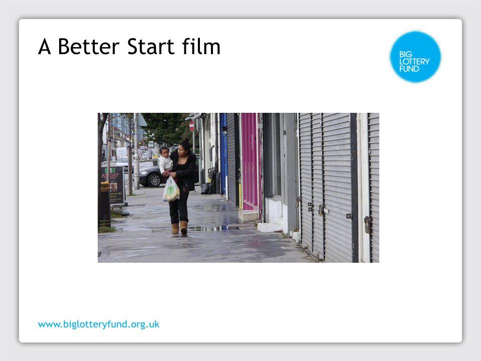 A Better Start film