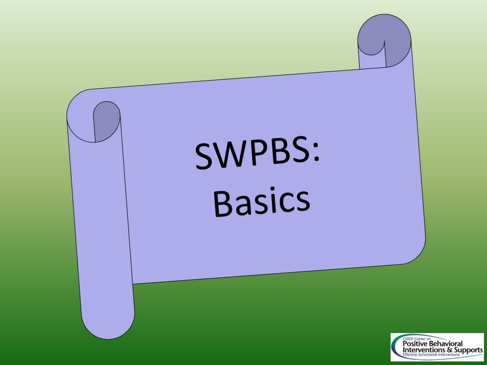 SWPBS: Basics
