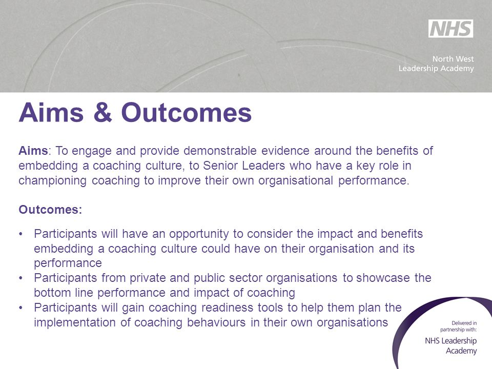 ' The 'Wild West' – no barriers  Creative, innovative, exciting period  Melting pot of approaches  Everyone has a coaching model  Academia waiting in the wings – might this turn into something?