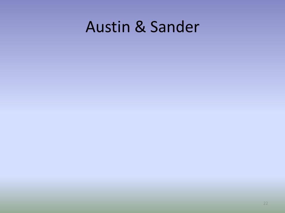 Austin & Sander 22