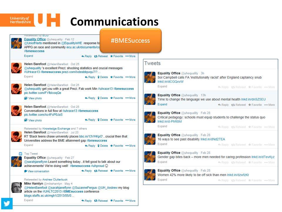 Communications #BMESuccess
