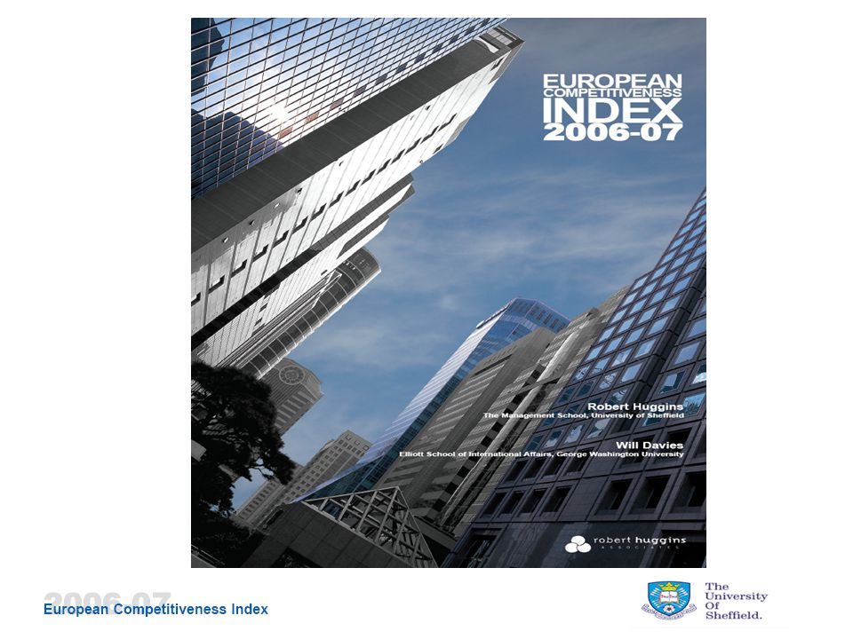European Competitiveness Index – Geographic Scope: The European Competitiveness Index 2006- include all EU-25 nations and their respective NUTS-1 regions, as well as Norway and Switzerland.