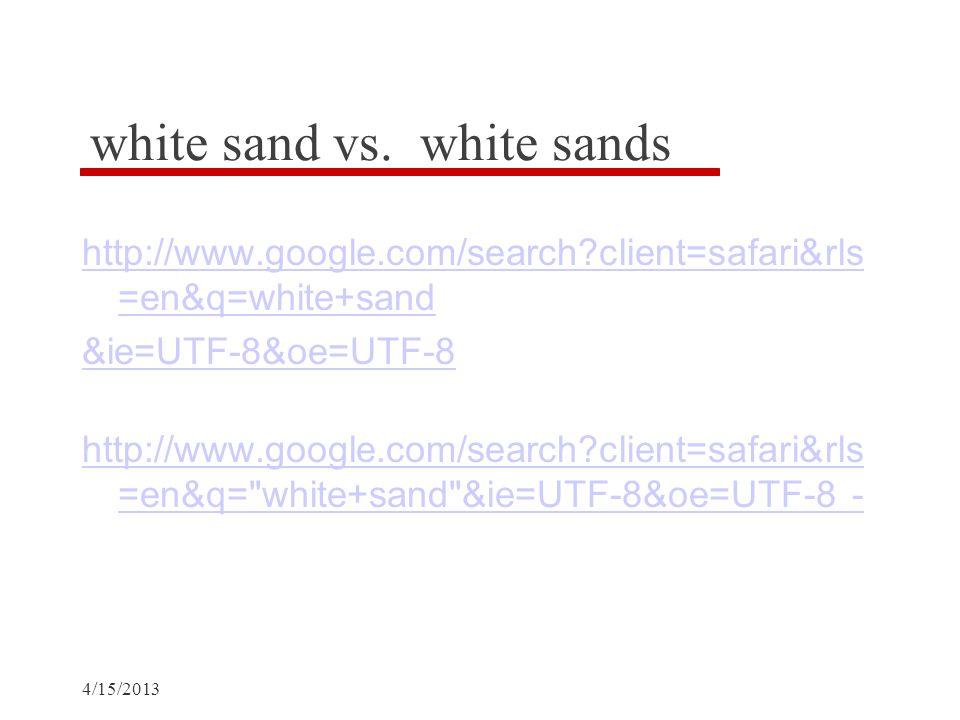 4/15/2013 white sand vs.