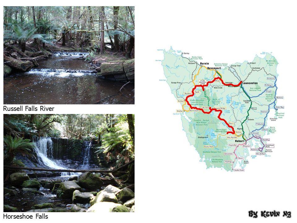 Russell Falls River Horseshoe Falls