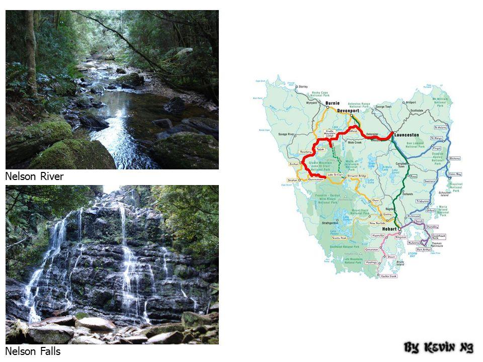 Nelson River Nelson Falls