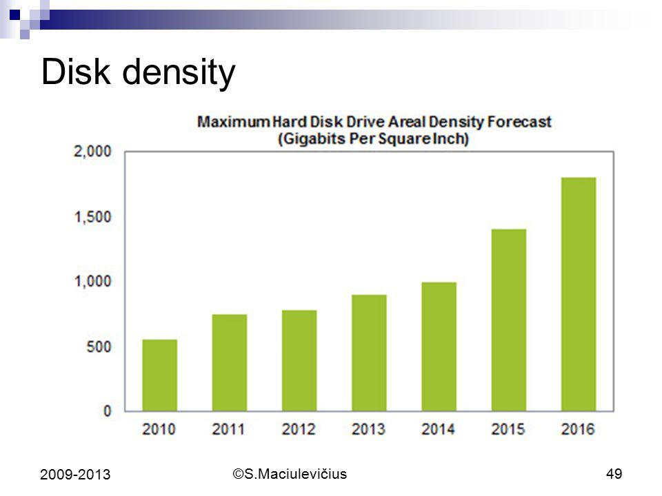 ©S.Maciulevičius49 2009-2013 Disk density