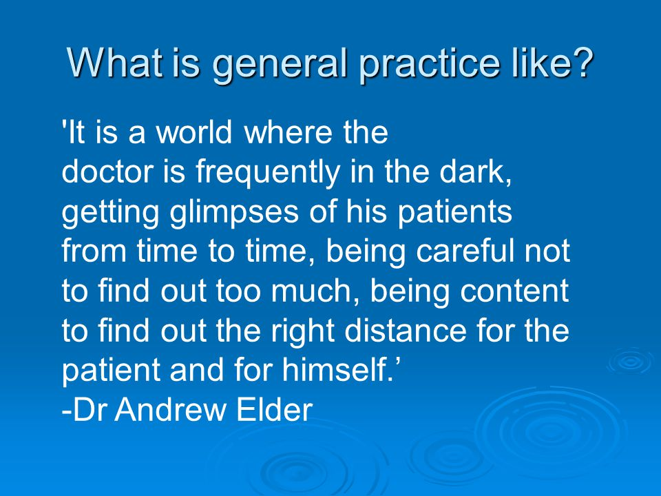 Empowering  GP's do this for our patients all the time  We explore our patients Health Beliefs-a core competence in our Royal College examinations CSA  We are Generalists so we can turn our hand to most explanations from the increased gastric acid in Dyspepsia or the reduced serotonin in Depression