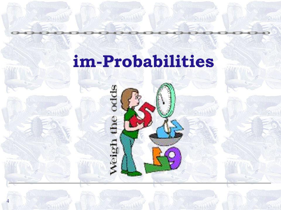 4 im-Probabilities