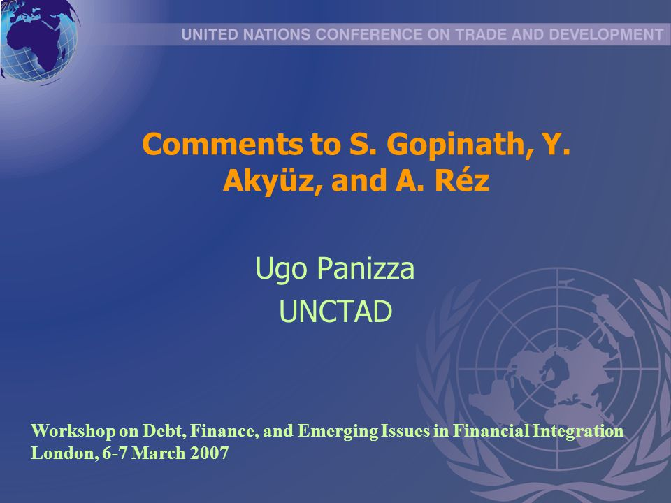 Comments to S.Gopinath, Y. Akyüz, and A.