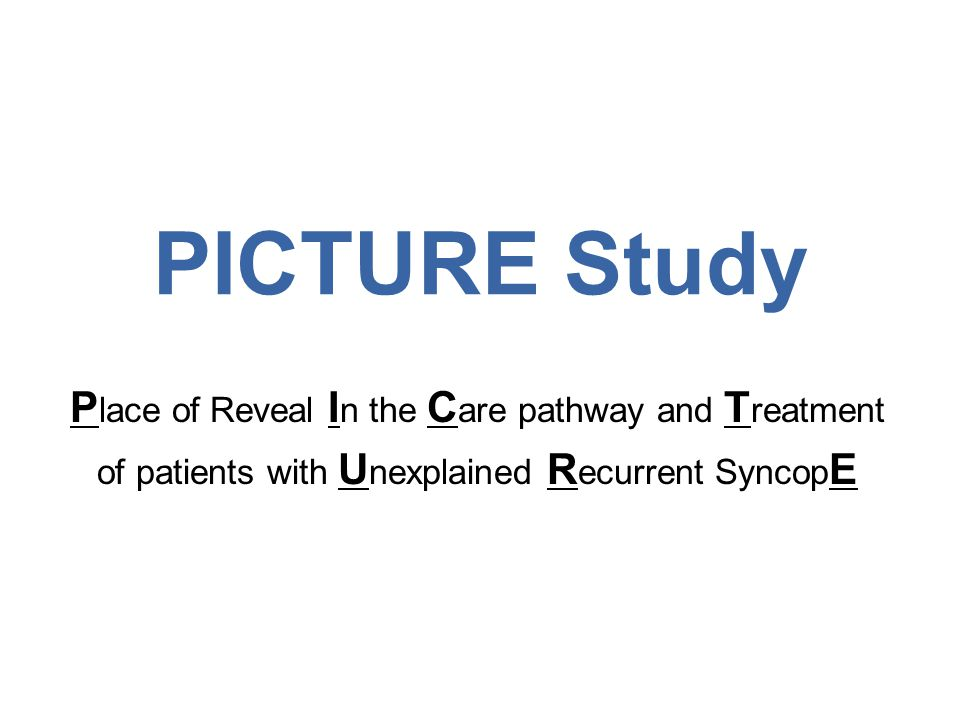 Results 5 During follow-up, –218 patients (38%) had a recurrence of syncope within 12 months (shaded area) Reveal ® ICMs guided the diagnosis in 170 (78%) patients with recurrent syncope, 75% of these patients had cardiac causes.