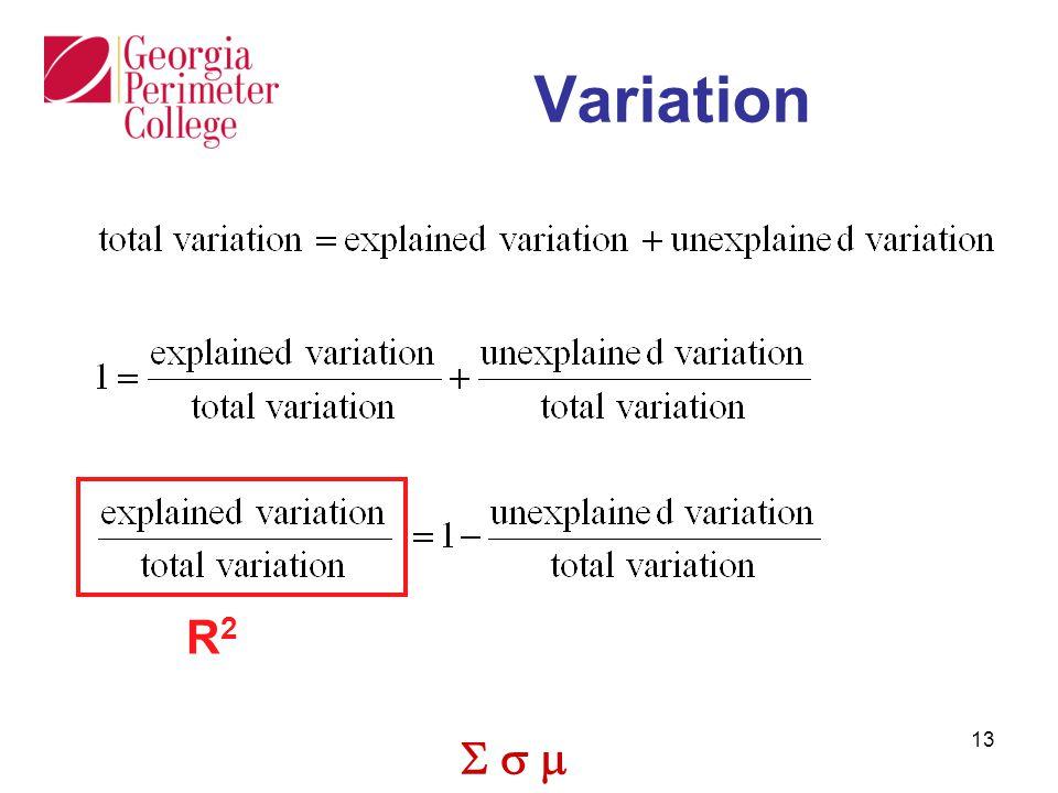  13 Variation R2R2