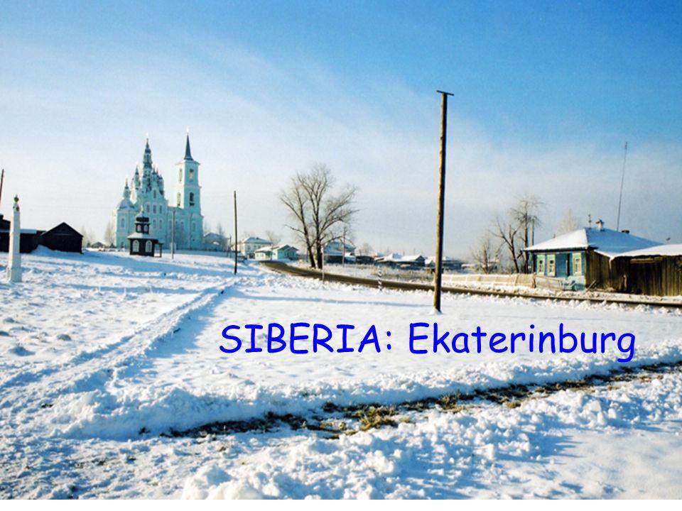 SIBERIA: Ekaterinburg