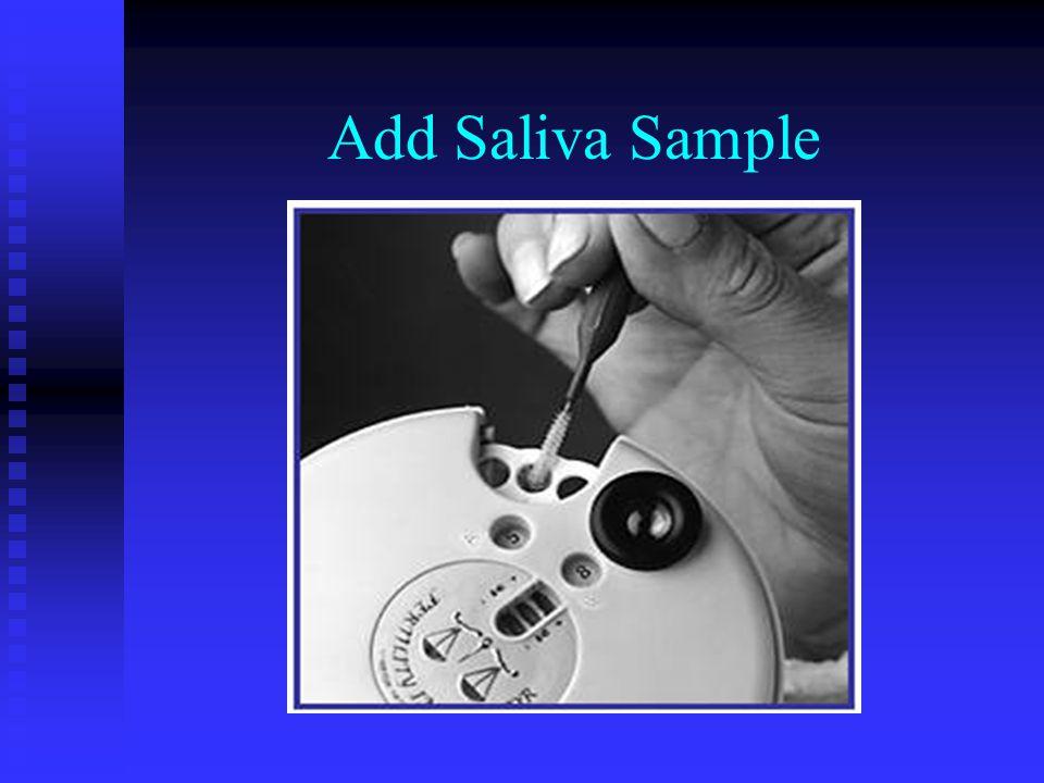 Add Saliva Sample
