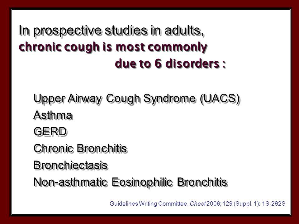 New Considerations  Eosinophilic bronchitis  Atopic cough  Non acid(volume)/ weakly acid reflux  Idiopathic (unexplained) öksürük