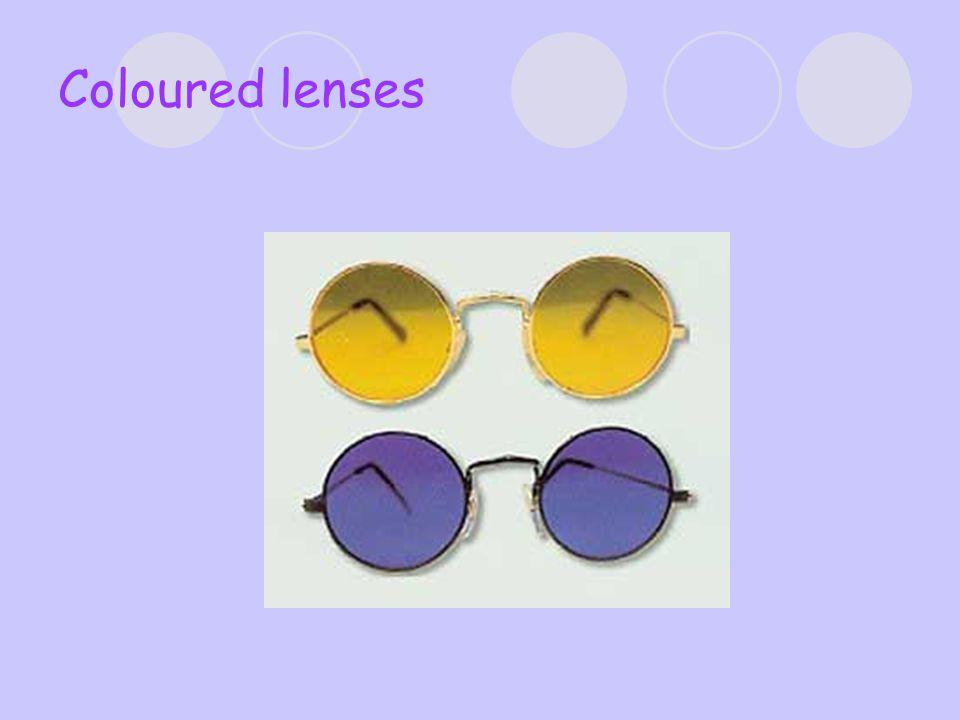 Coloured lenses