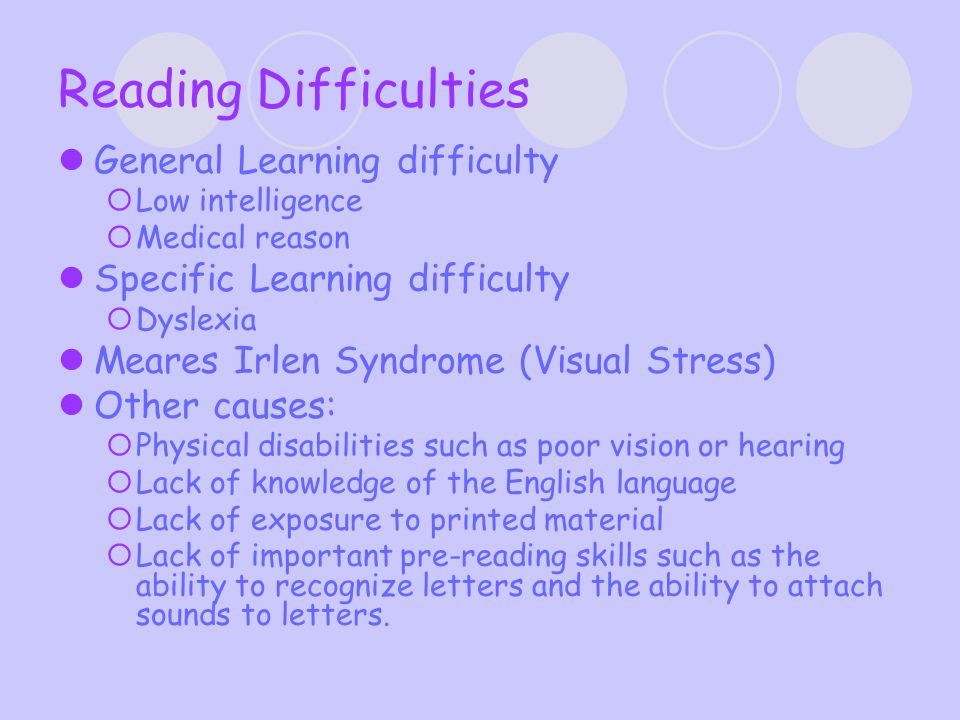 Dyslexia – What is it.