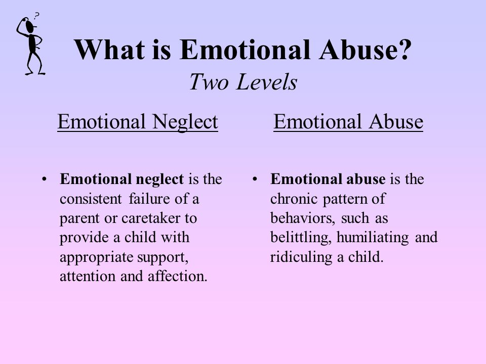 Physical Abuse Behavioral Indicators: Requests or feels deserving of punishment Afraid to go home and/or requests to stay in school, day care, etc.