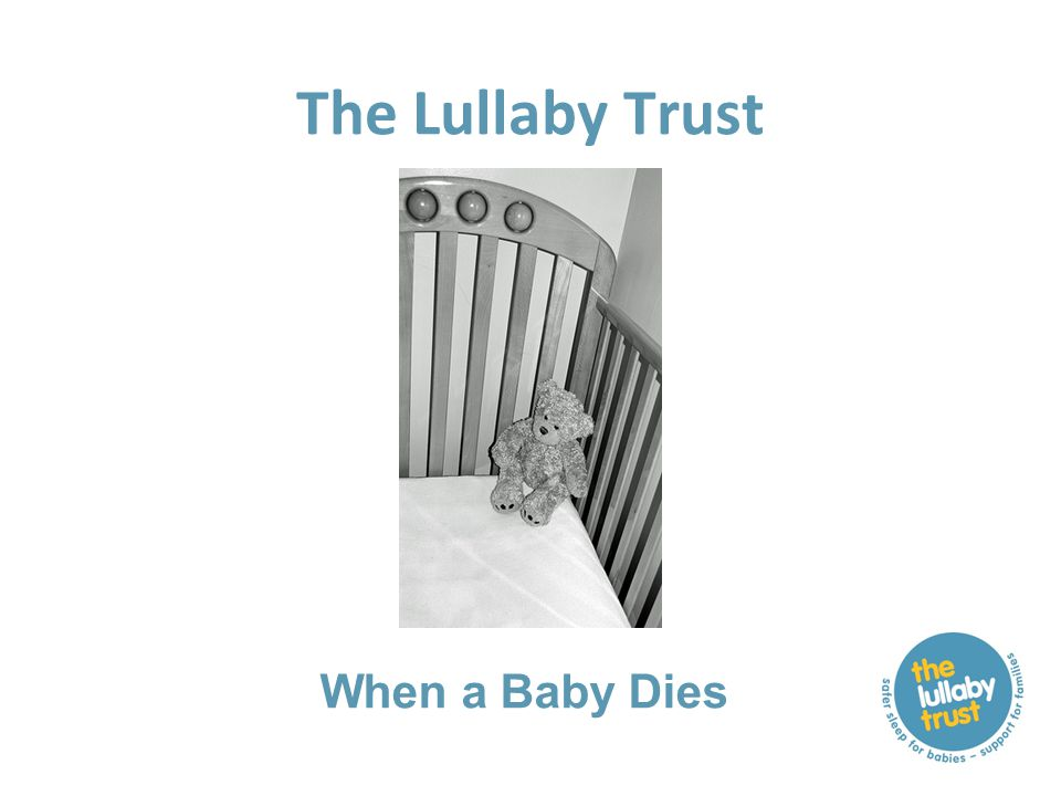The Lullaby Trust When a Baby Dies