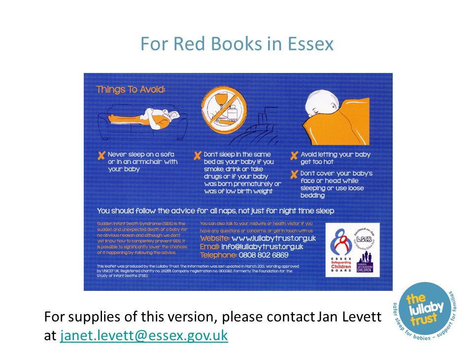 For Red Books in Essex For supplies of this version, please contact Jan Levett at janet.levett@essex.gov.ukjanet.levett@essex.gov.uk
