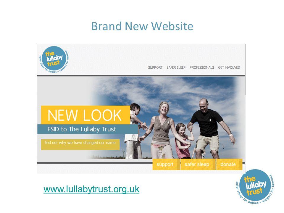 Brand New Website www.lullabytrust.org.uk
