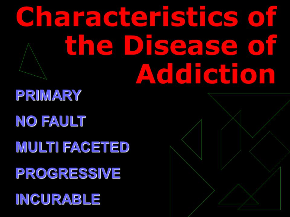 Stages of Addiction USE MISUSE ABUSE