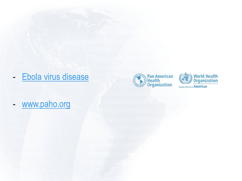 -Ebola virus diseaseEbola virus disease -www.paho.orgwww.paho.org