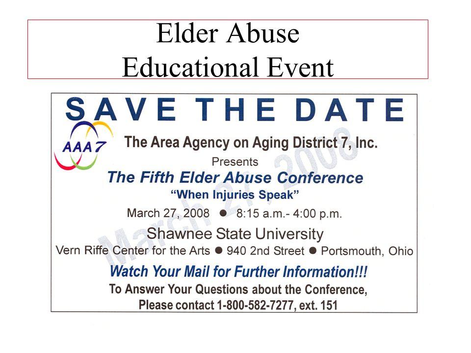 Elder Abuse Educational Event
