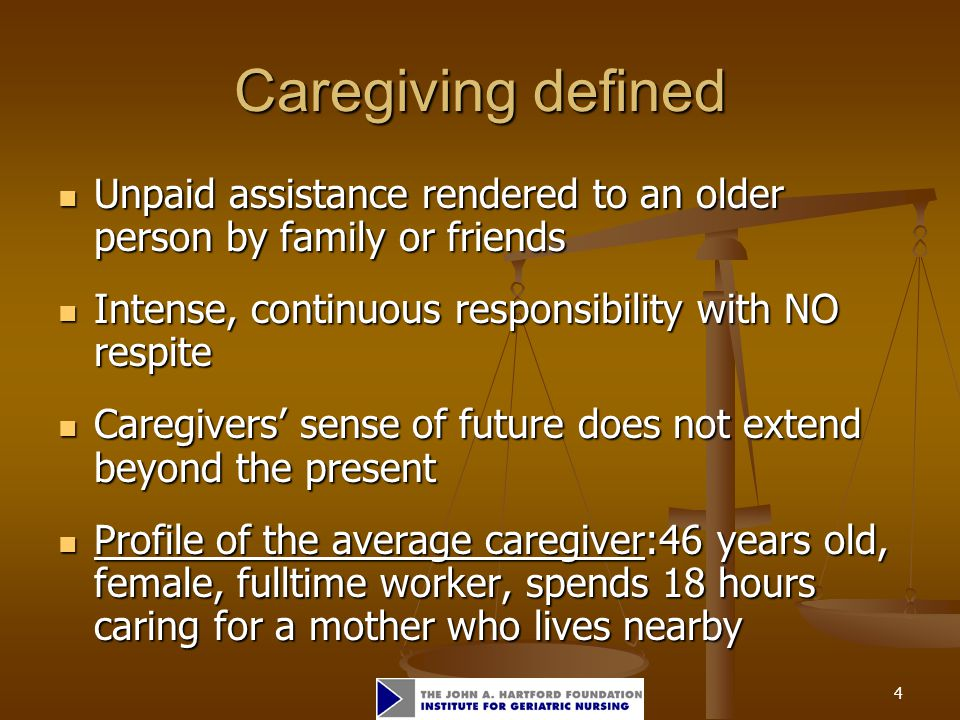 5 Demographics Families provide 80% of caregiving in the U.S.