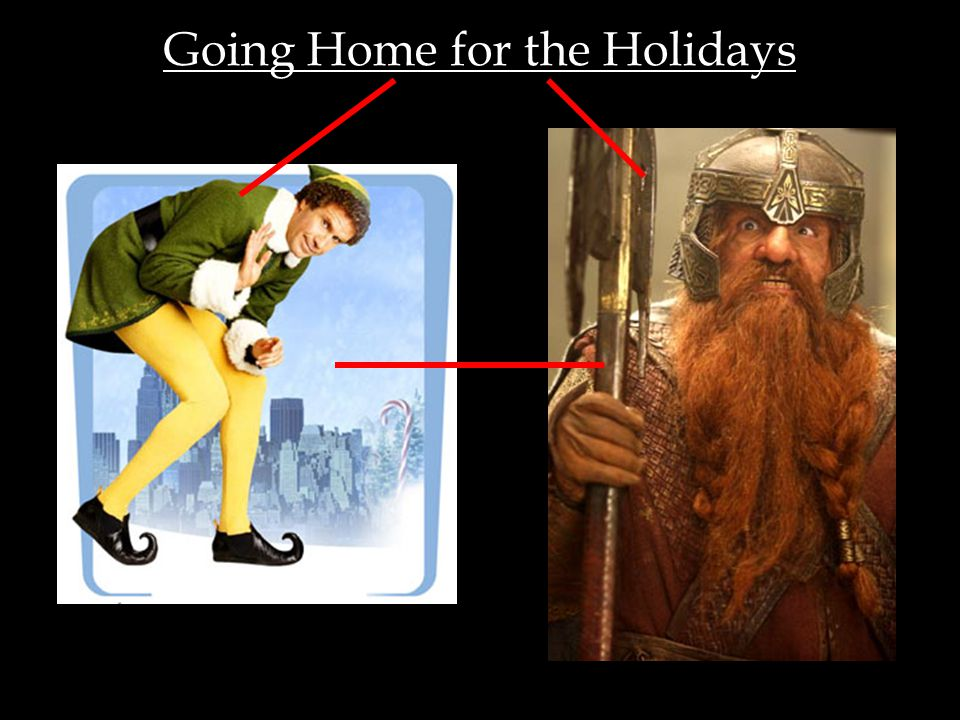Going Home for the Holidays