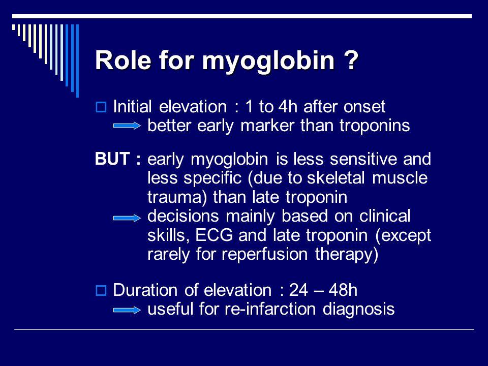 Role for myoglobin .