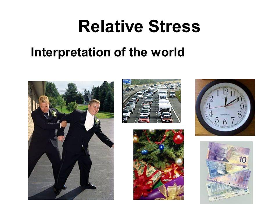 Relative Stress Interpretation of the world