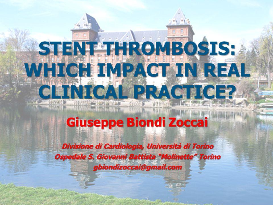 32 Stent thrombosis in further perspective Daemen et al, Lancet 2007