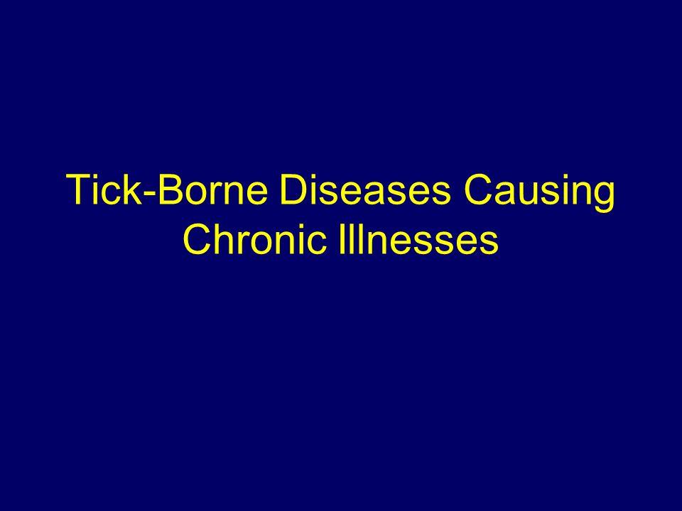 Tick-Borne Diseases Causing Chronic Illnesses