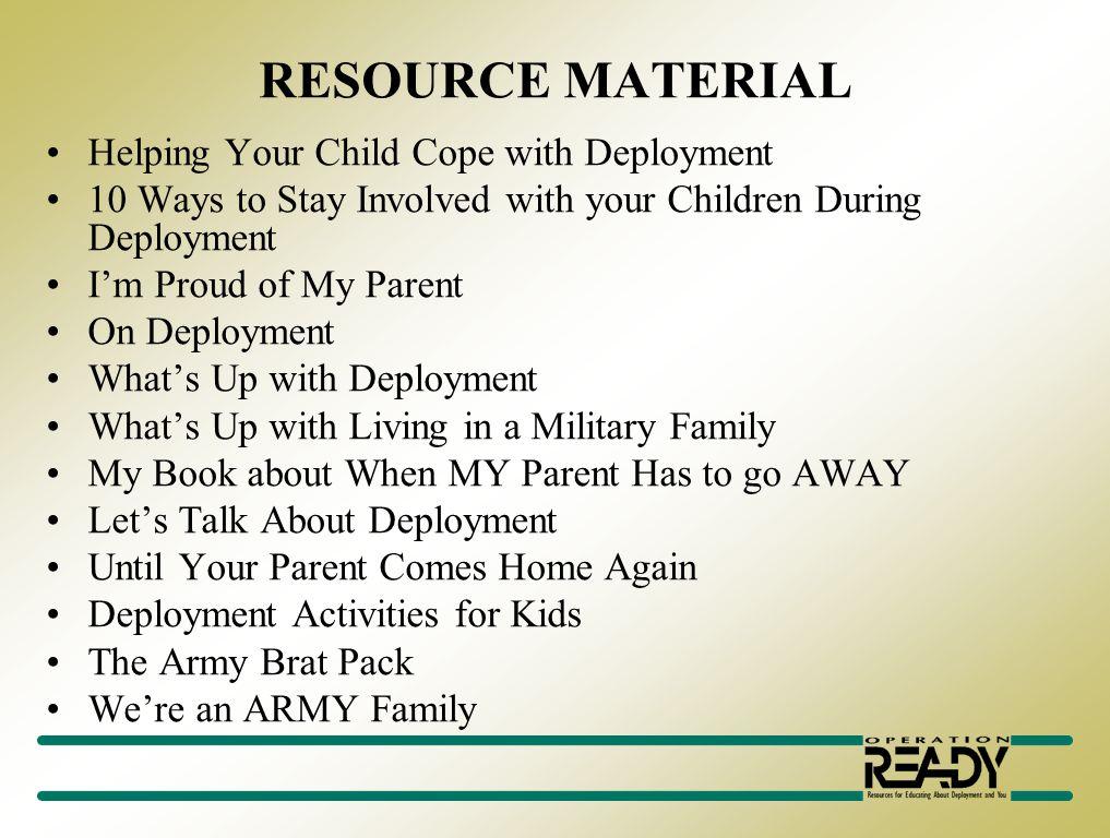 Mobilization & Deployment Nancy Thomas-Mainor 568-1132 nancy.thomasmainor@us.army.mil