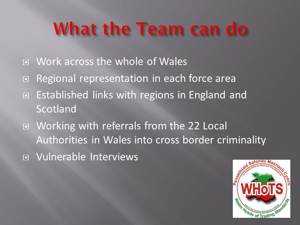 The offenders work as a team of two or more Travel the country choosing areas with a high population of older residents.