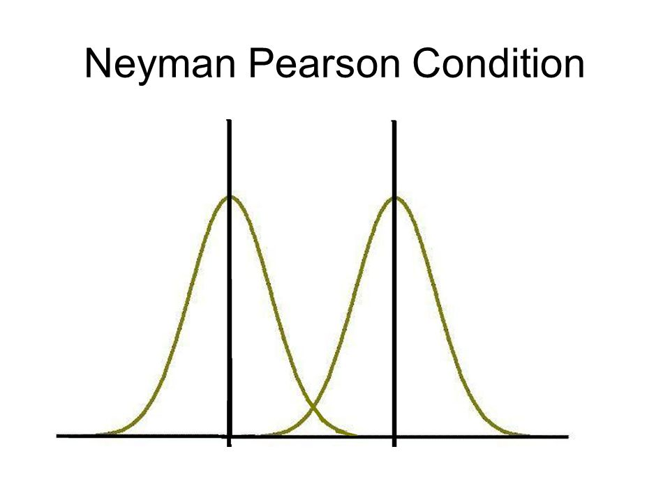 Neyman Pearson Condition