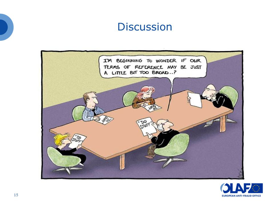 15 Discussion