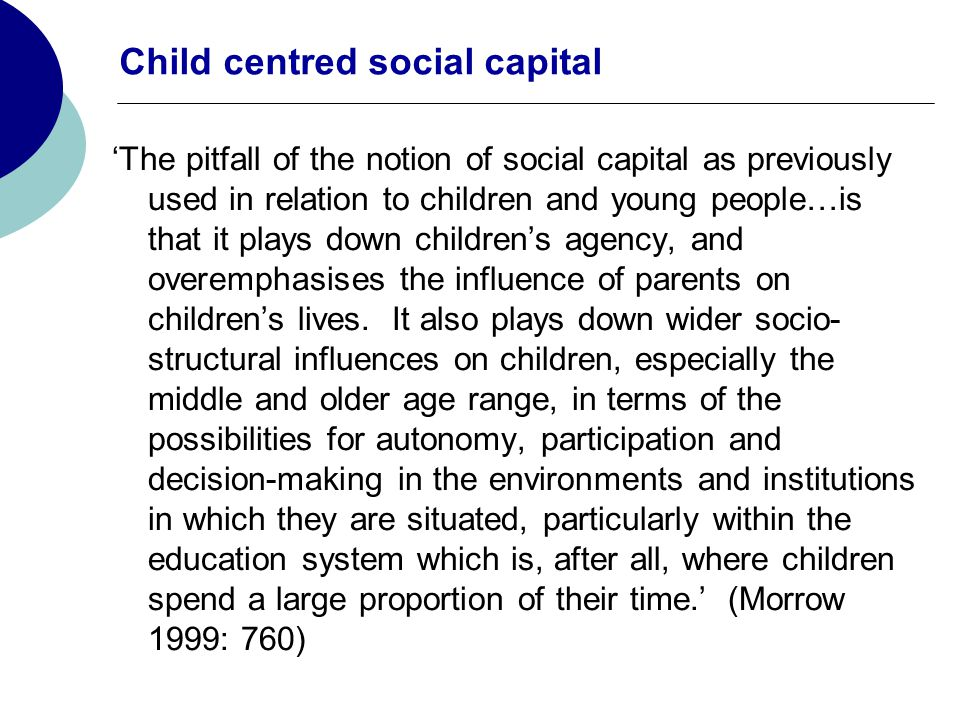Parental human capital indicators (b) interact with an indicator of the strength of the parent and child bond (1) to account for the quality familial relationships on the child's educational achievement Human And Social Capital Interaction