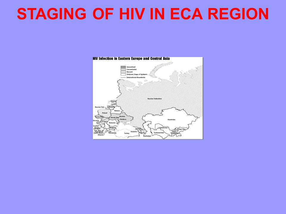STAGING OF HIV IN ECA REGION