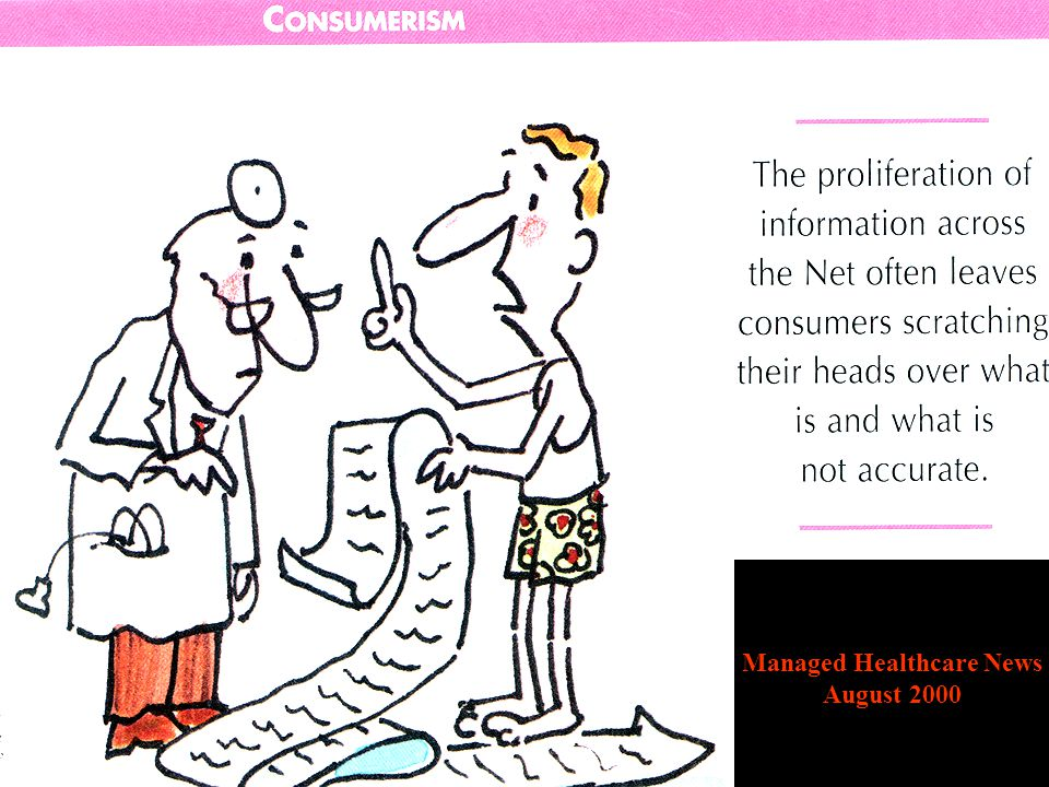 Emerging Power of Consumerism and eHealth