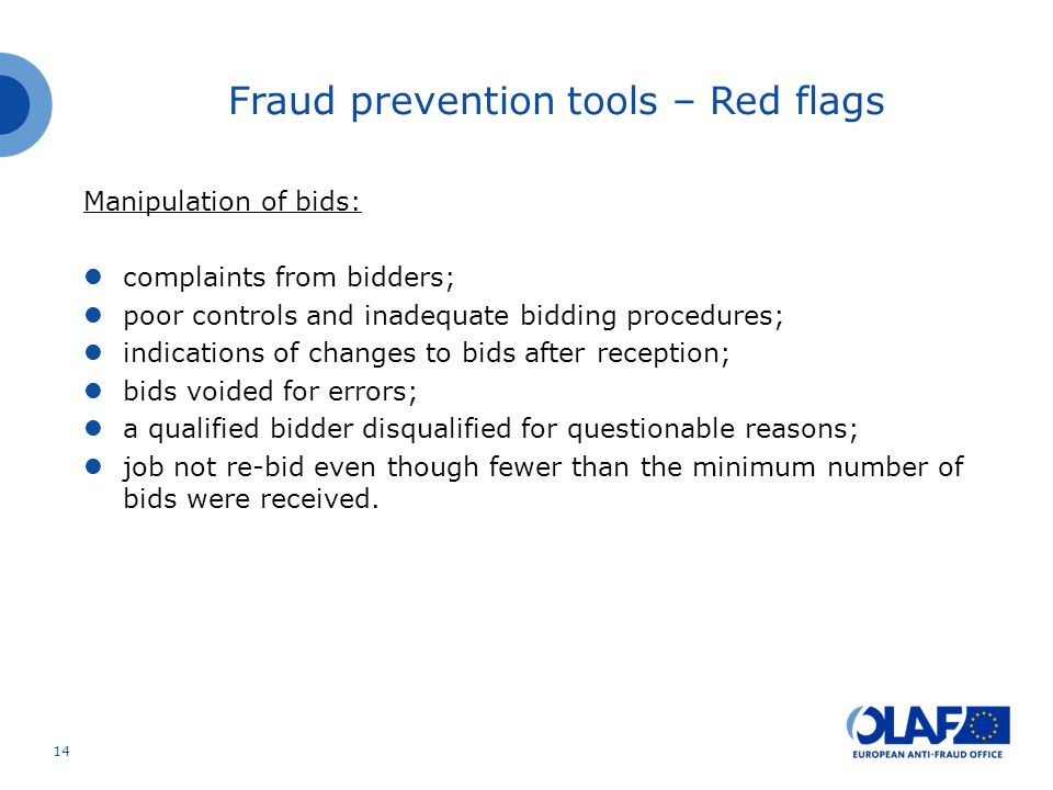 Manipulation of bids: complaints from bidders; poor controls and inadequate bidding procedures; indications of changes to bids after reception; bids voided for errors; a qualified bidder disqualified for questionable reasons; job not re-bid even though fewer than the minimum number of bids were received.