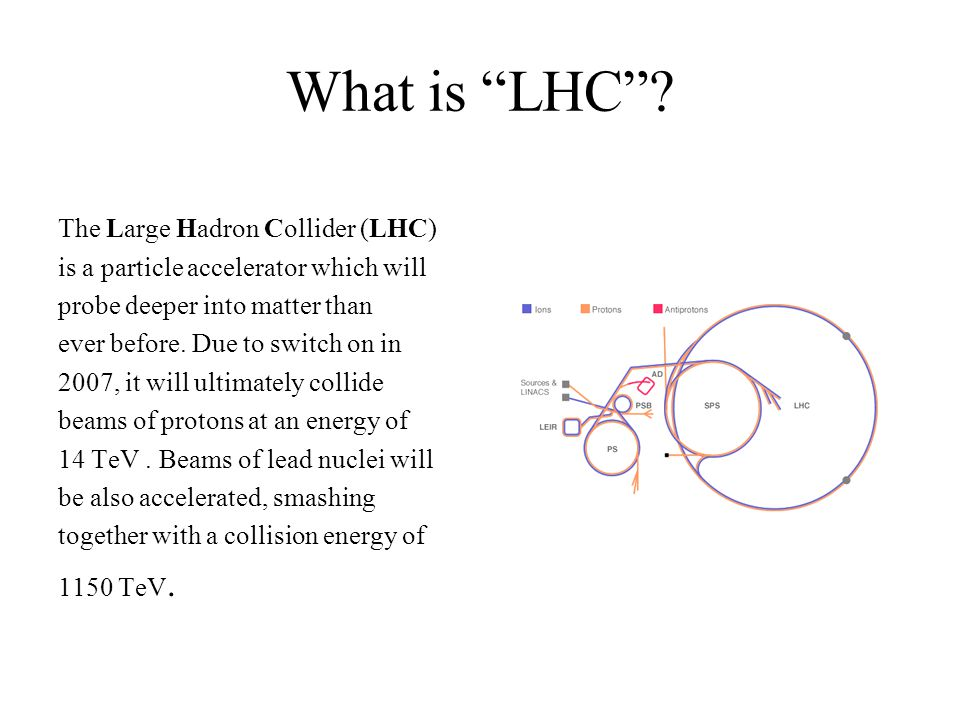 How does the LHC work.By using superconductivity.