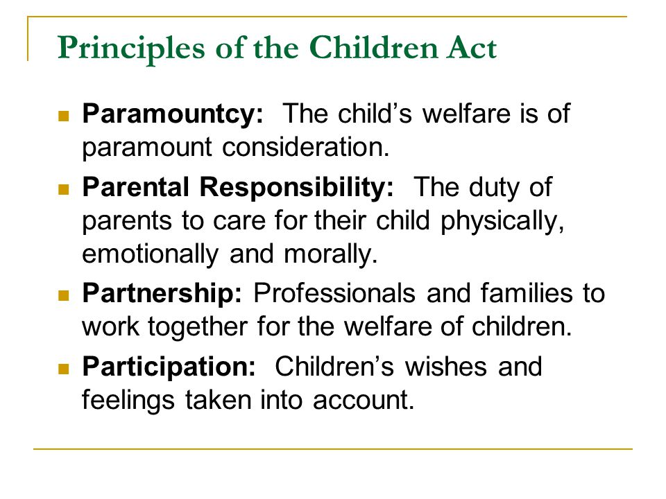 Provision: Section 17 - 'Child in Need' Enquiry Services necessary to safeguard and promote the welfare of children in need.