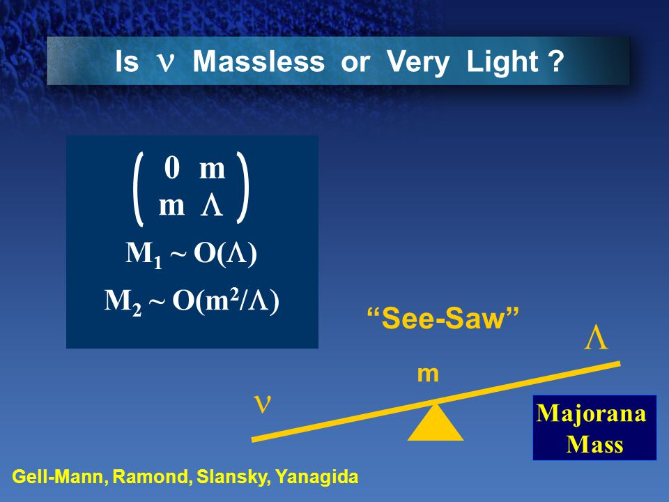 Is Massless or Very Light .